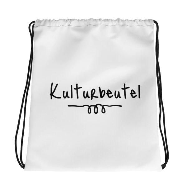 """Kordelzugbeutel """"Kulturbeutel"""""""